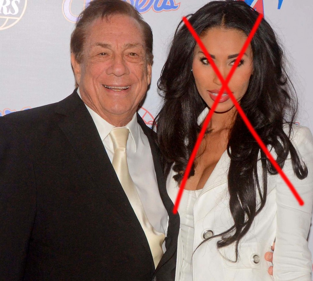 EXCLUSIVE: Donald Sterling is seen attending an event with V. Stiviano in 2012 as it is reported she allegedly tried to extort him over racist recordings