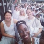 A Virgin at Diner en Blanc